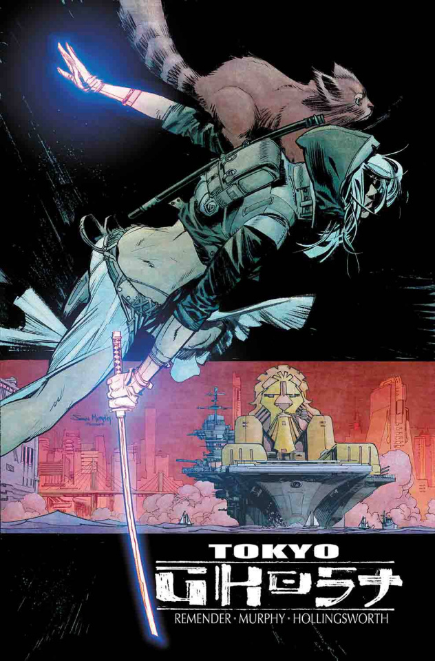 Tokyo Ghost #7 (Murphy & Hollingsworth Cover)