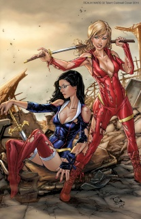 Grimm Fairy Tales: Realm War #2 (Caldwell Cover)