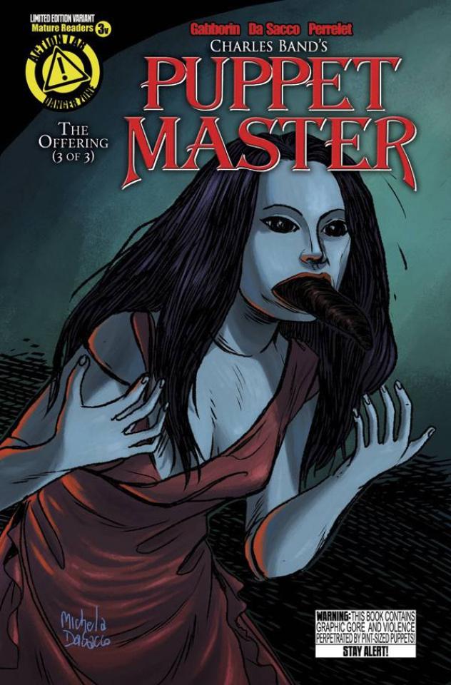 Puppet Master #3 (Leech Woman Cover)
