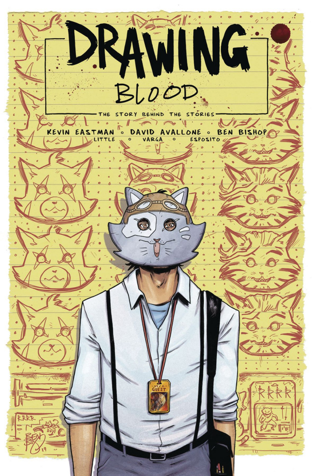 Drawing Blood: Spilled Ink #4 (Bishop Cover)