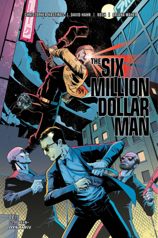 The Six Million Dollar Man #3 (Gapstur Cover)