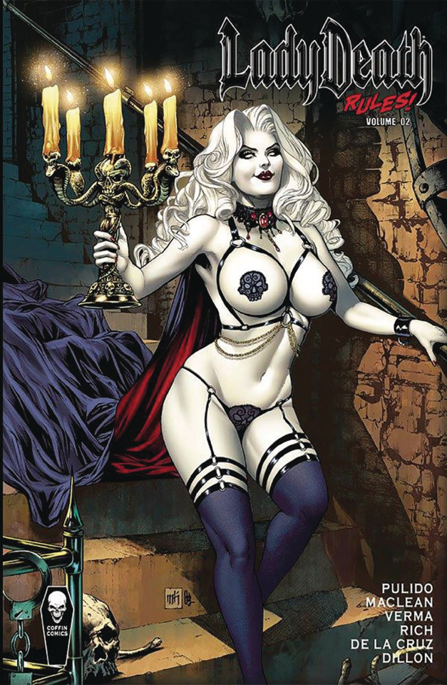 Lady Death Rules! Vol. 2 (Signed Edition)