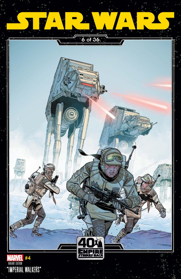 Star Wars #4 (Sprouse Empire Strikes Back Cover)