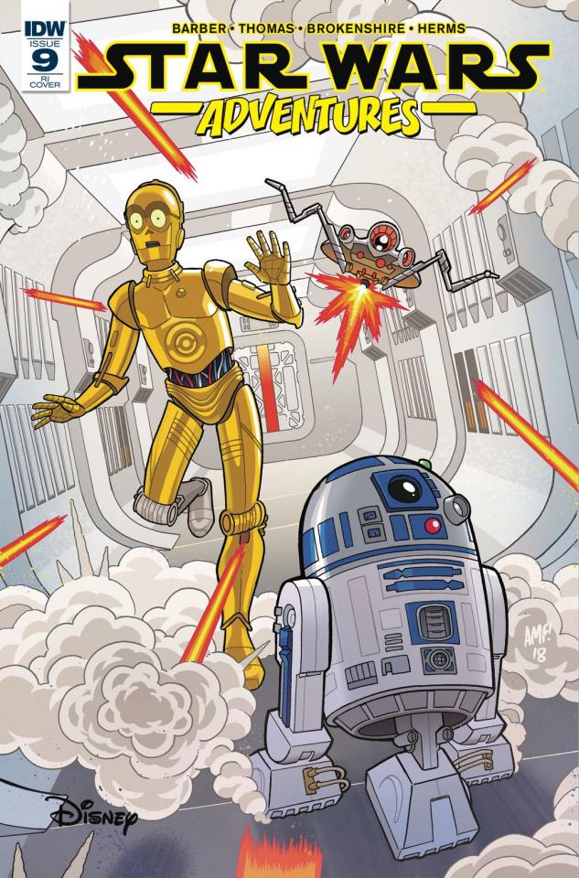 Star Wars Adventures #9 (10 Copy Fleecs Cover)