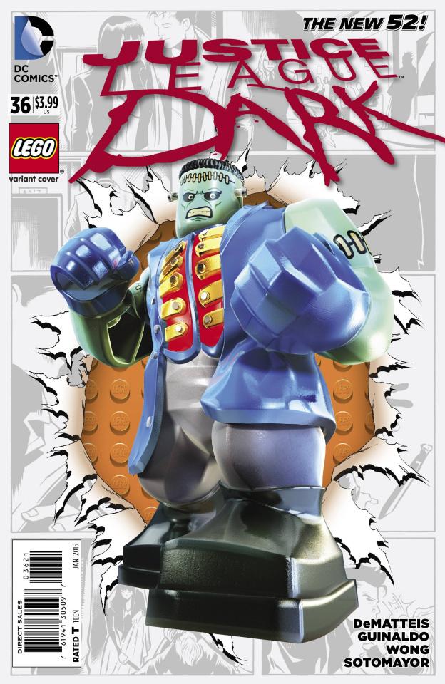 Justice League Dark #36 (Lego Cover)