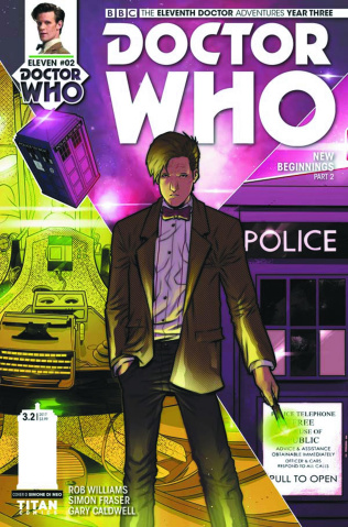 Doctor Who: New Adventures with the Eleventh Doctor, Year Three #2 (Di Meo Cover)