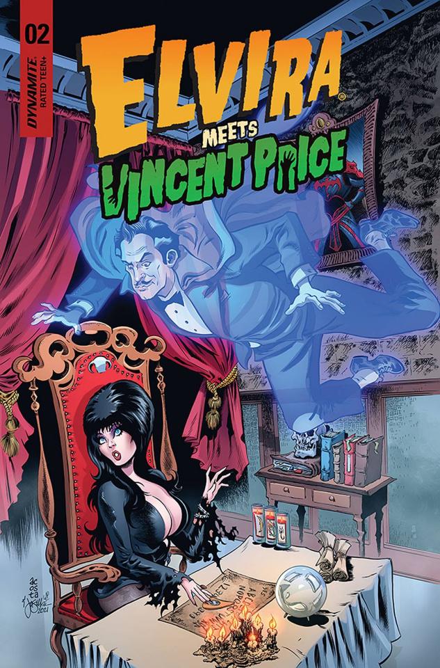 Elvira Meets Vincent Price #2 (Acosta Cover)