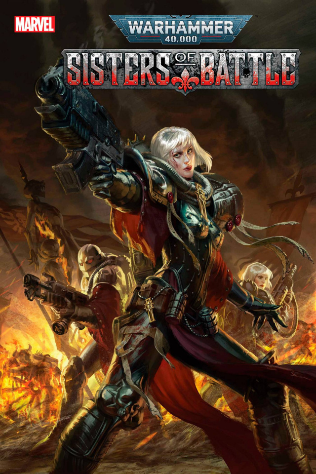 Warhammer 40,000: Sisters of Battle #4 (Games Workshop Cover)
