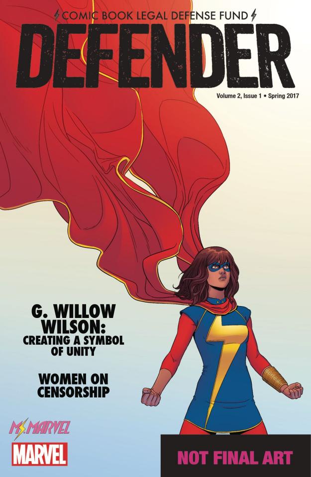 Comic Book Legal Defense Fund: Defender #1