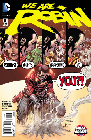 We Are Robin #9 (Neal Adams Cover)