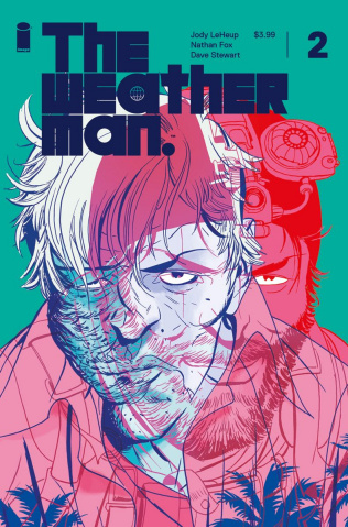 The Weatherman #2 (Martin Cover)