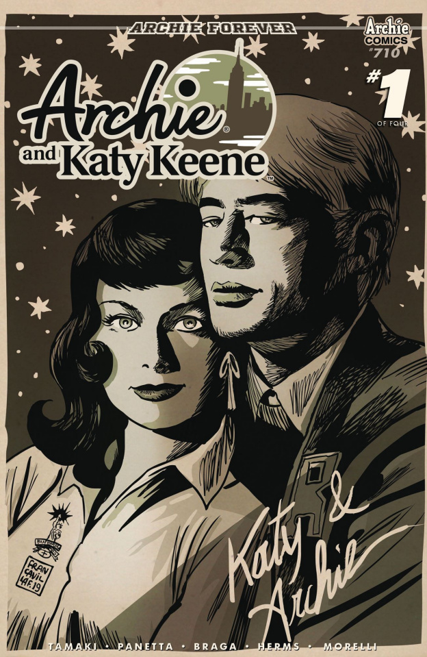 Archie and Katy Keene #1 (Francavilla Cover)