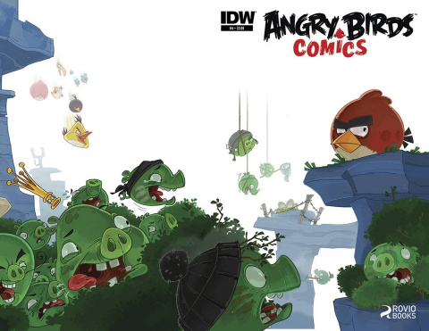 Angry Birds Comics #4
