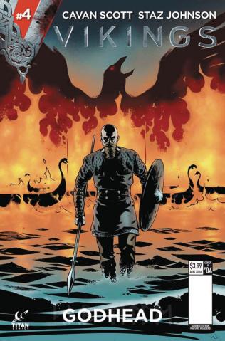 Vikings #4 (Snejbjerg Cover)