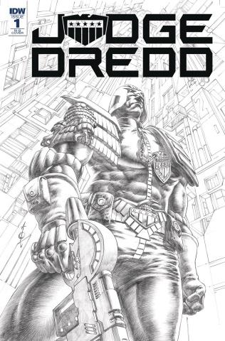 Judge Dredd: Under Siege #1 (20 Copy Cover)