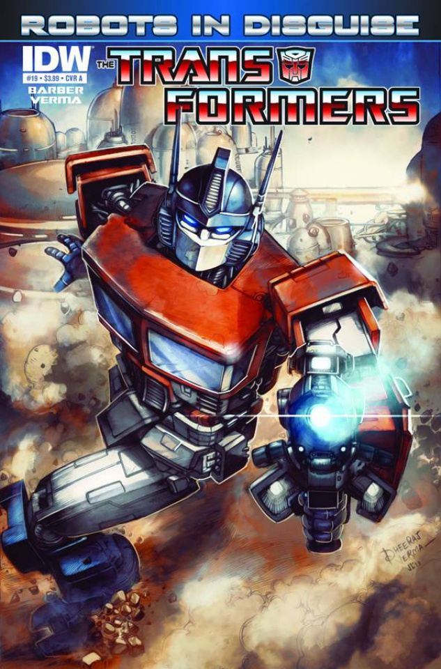 The Transformers: Robots in Disguise #19