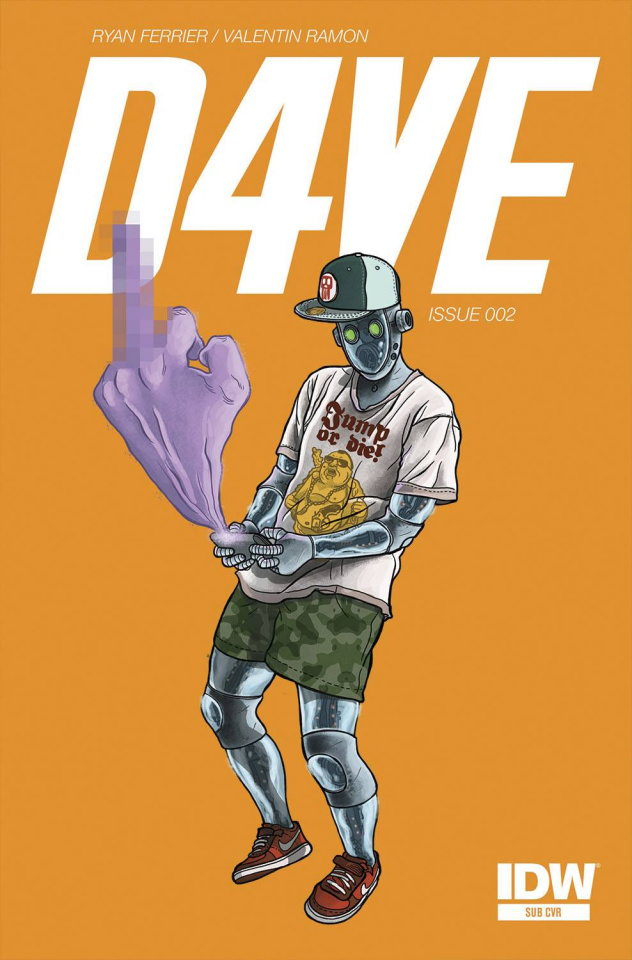 D4VE #2 (Subscription Cover)