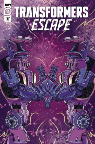 Transformers: Escape #2 (10 Copy Nicole Goux Cover)