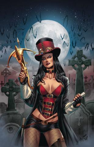 Van Helsing: The Sword of Heaven #6 (Reyes Cover)