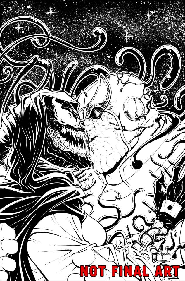 Thanos #11 (Robson Venomized Death Cover)