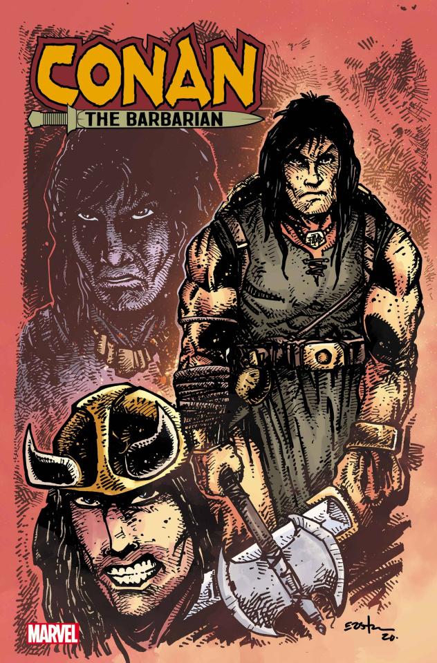 Conan the Barbarian #25 (Eastman Design Cover)