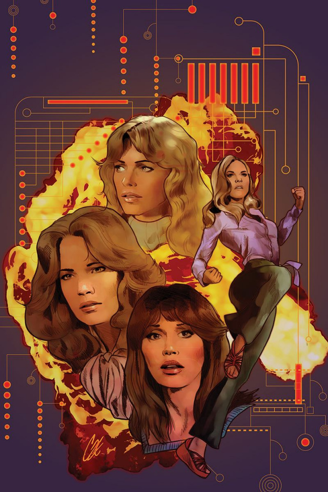 Charlie's Angels vs. The Bionic Woman #1 (40 Copy Staggs Virgin Cover)