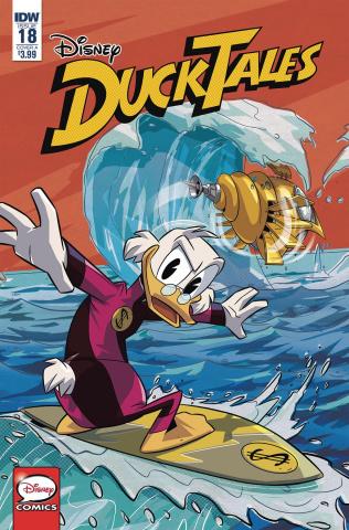 DuckTales #18 (Ghiglione & Stella Cover)