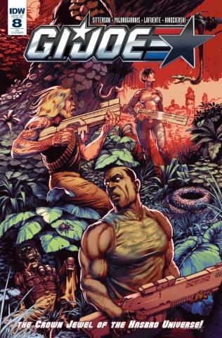 G.I. Joe #8 (10 Copy Cover)