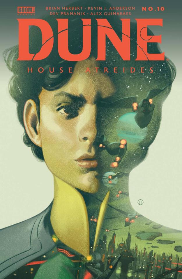 Dune: House Atreides #10 (Todesco Cover)