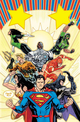 Justice League #1 (Variant Cover)