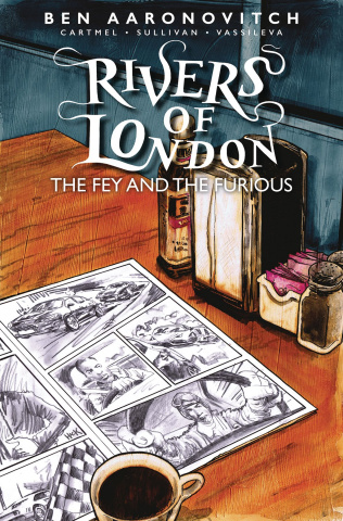 Rivers of London: The Fey and The Furious #1 (Hack Cover)