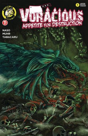 Voracious: Appetite for Destruction #1 (Ramon Cover)