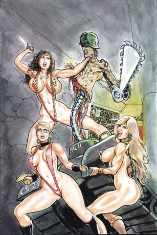 Cavewoman: Return to the Labyrinth #1 (Cover A)