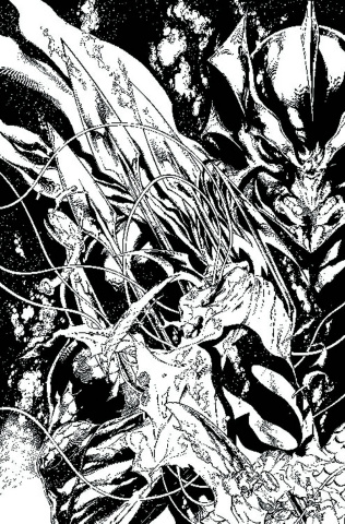 Justice League #17 (Black & White Cover)