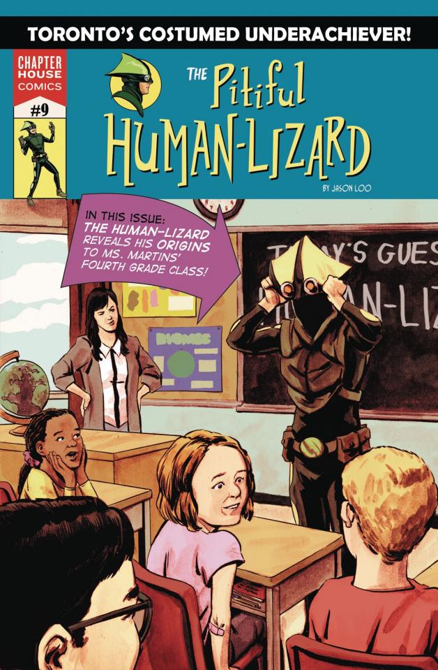 The Pitiful Human-Lizard #9