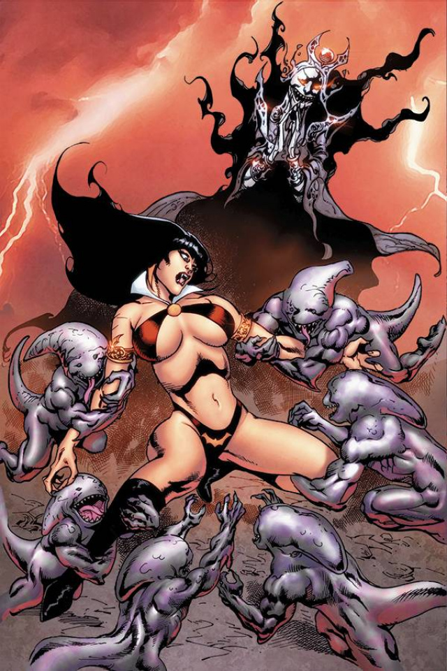 Vengeance of Vampirella #10 (15 Copy Castro Virgin Cover)