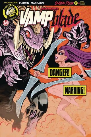 Vampblade, Season Four #7 (Baugh Risque Cover)