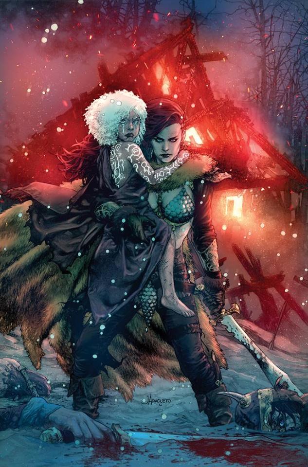 Red Sonja #1 (Anacleto Virgin Cover)