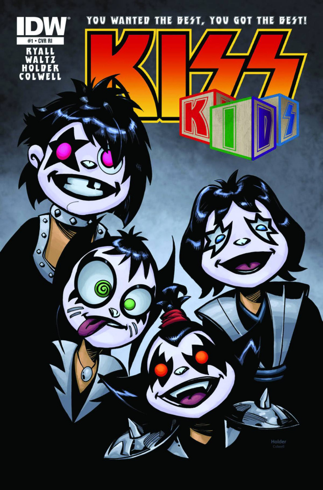 KISS Kids #1 (Subscription Cover)