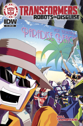The Transformers: Robots in Disguise Animated #5 (Subscription Cover)