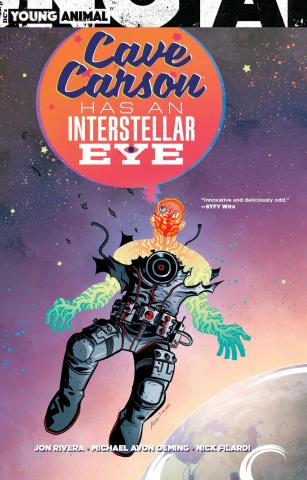 Cave Carson Has an Interstellar Eye