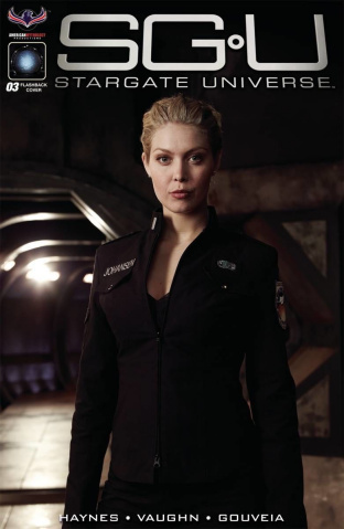 Stargate Universe: Back to Destiny #3 (3 Copy Photo Cover)