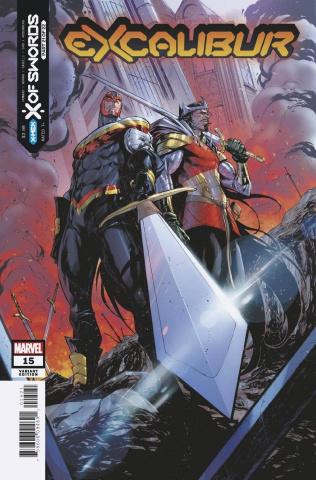 Excalibur #15 (Coello Cover)
