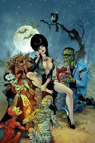 Elvira: Mistress of the Dark #11 (15 Copy Castro Virgin Cover)