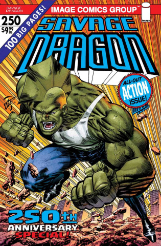 Savage Dragon #250 (2nd Printing)