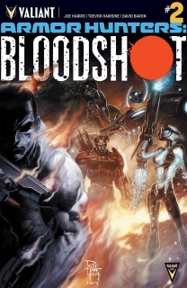 Armor Hunters: Bloodshot #2 (Tan Cover)