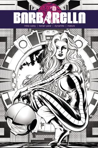 Barbarella #6 (30 Copy Jaime B&W Cover)