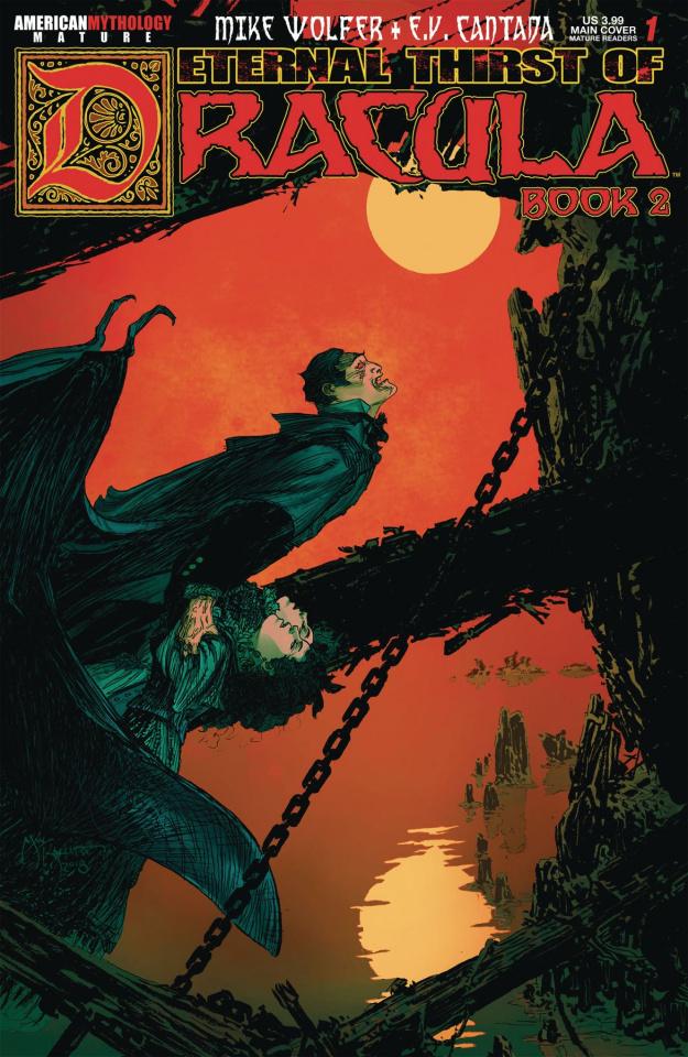 Eternal Thirst of Dracula, Book 2 #1