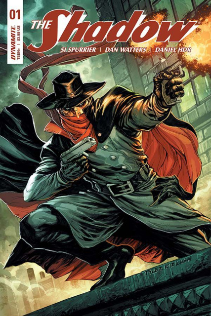 The Shadow #1 (Kirkham Subscription Cover)