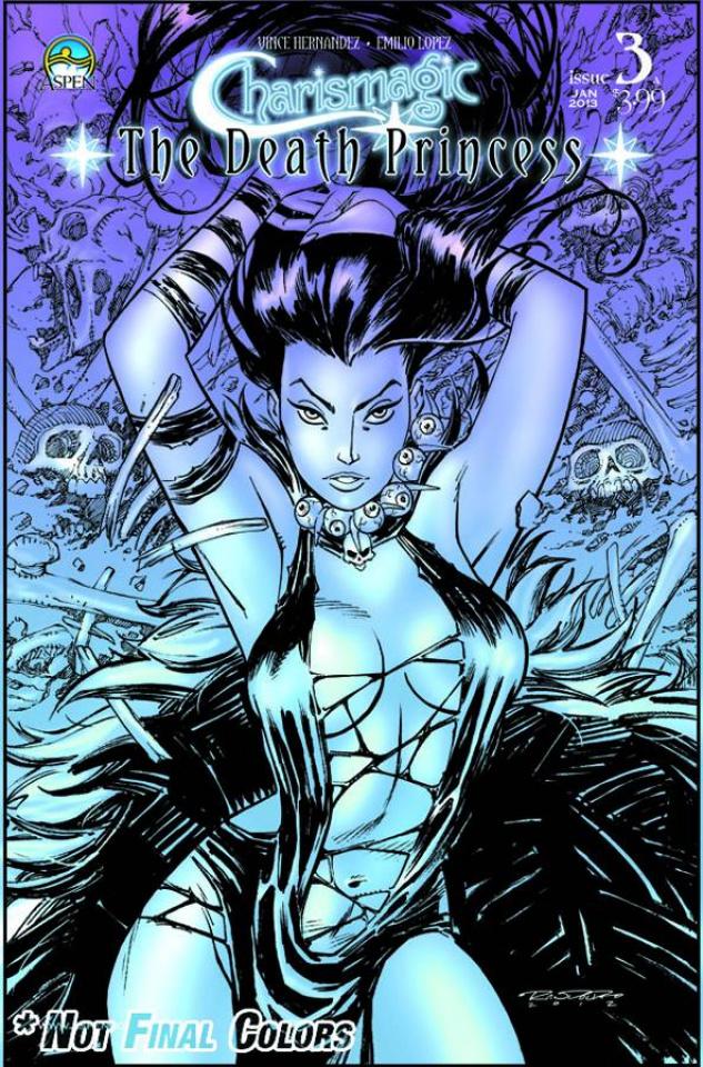 Charismagic: The Death Princess #3 (Randolph Cover)